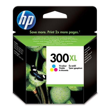 HP Cartouche d'Encre HP 300XL  Trois Couleurs grande capacité Authentique (CC644EE)