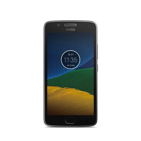 MOTOROLA Smartphone MOTO G5 - 16 Go - 5 pouces - Gris