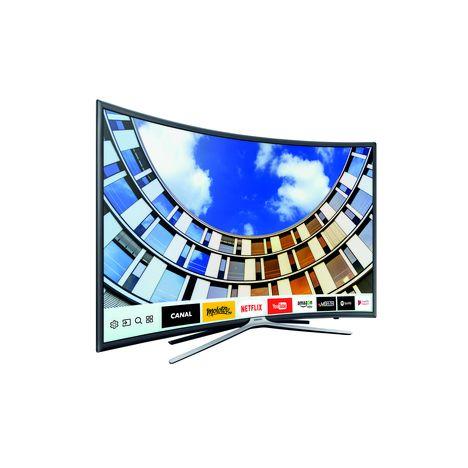 ue49m6305 tv led full hd 49 123 cm incurv full hd smart tv samsung pas cher. Black Bedroom Furniture Sets. Home Design Ideas