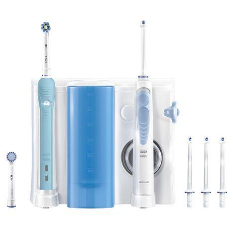 ORAL-B Combiné dentaire PRO 700 + WATERJET : Brosse à dents + Hydropulseur