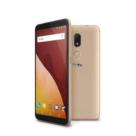 WIKO Smartphone VIEW PRIME - 64 Go - 5,7 pouces - Or