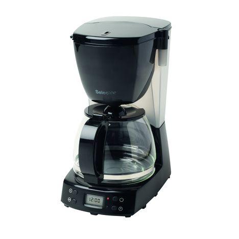 cafetiere programmable cm4298 noir selecline pas cher. Black Bedroom Furniture Sets. Home Design Ideas