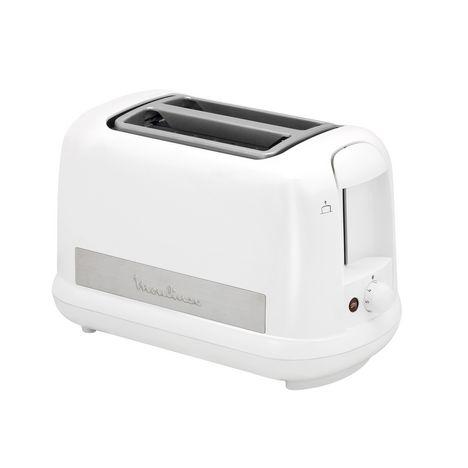 toaster lt162111 principio plus blanc moulinex pas cher prix auchan. Black Bedroom Furniture Sets. Home Design Ideas