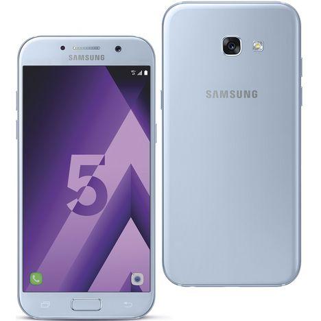smartphone galaxy a5 2017 32 go 5 2 pouces bleu samsung pas cher prix auchan. Black Bedroom Furniture Sets. Home Design Ideas