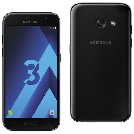 SAMSUNG Smartphone - Galaxy A3 2017 - 16 Go - 4,7 pouces - Noir