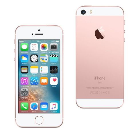 APPLE Iphone SE - 128 Go - 4 pouces - Rose doré