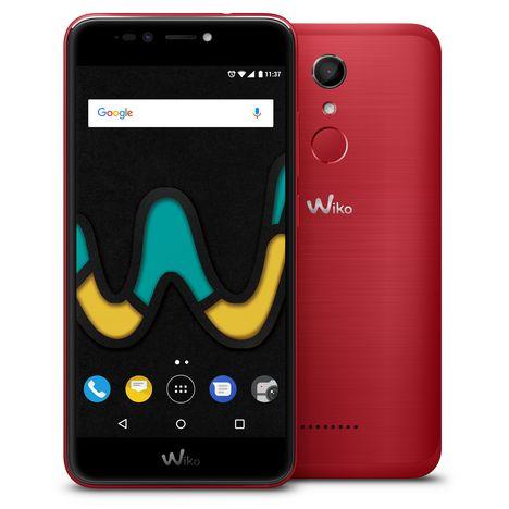 WIKO Smartphone U PULSE - 32 Go - 5,5 pouces - Rouge