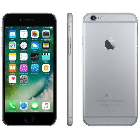 iphone 6 32 go 4 7 pouces gris apple pas cher prix auchan. Black Bedroom Furniture Sets. Home Design Ideas