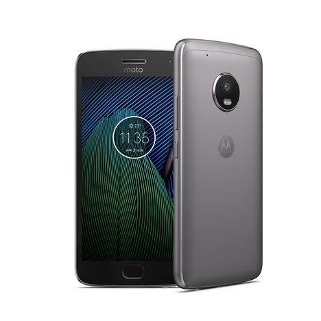 MOTOROLA Smartphone MOTO G5S - 32 Go - 5,5 pouces - Gris