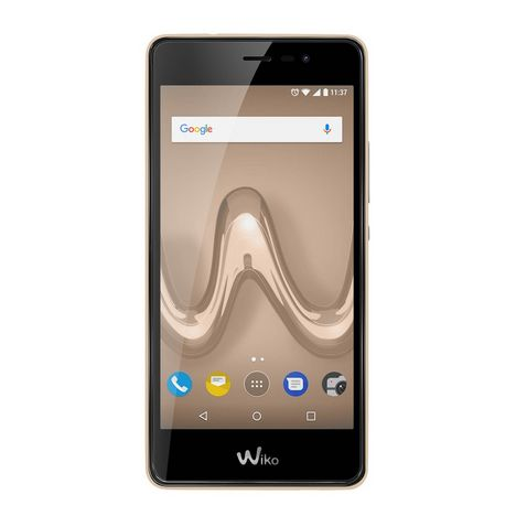 WIKO Smartphone TOMMY 2 - 8 Go - 5 pouces - Or