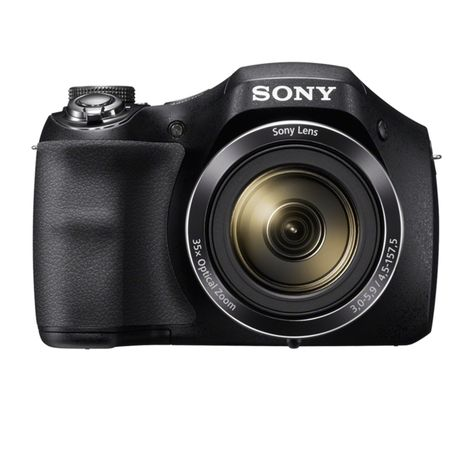 SONY Appareil Photo Bridge - DSC H300 - Noir - Objectif 4.5-35 mm