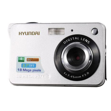HYUNDAI Appareil Photo Compact - DCH 26 - Blanc