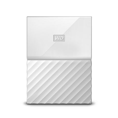 WESTERN DIGITAL Disque dur externe 1 To Blanc WDBYNN0010BWT-WESN