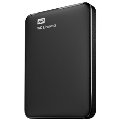 WESTERN DIGITAL Disque dur externe 1 To Noir WDBUZG0010BBK-WESN