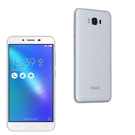 ASUS Smartphone ZENFONE 3 MAX+ - 32 Go - 5,5 pouces - Argent