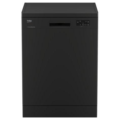 BEKO Lave-vaisselle pose-libre DFN16220A, 12 Couverts, 60 cm, 47 dB, 6 Programmes