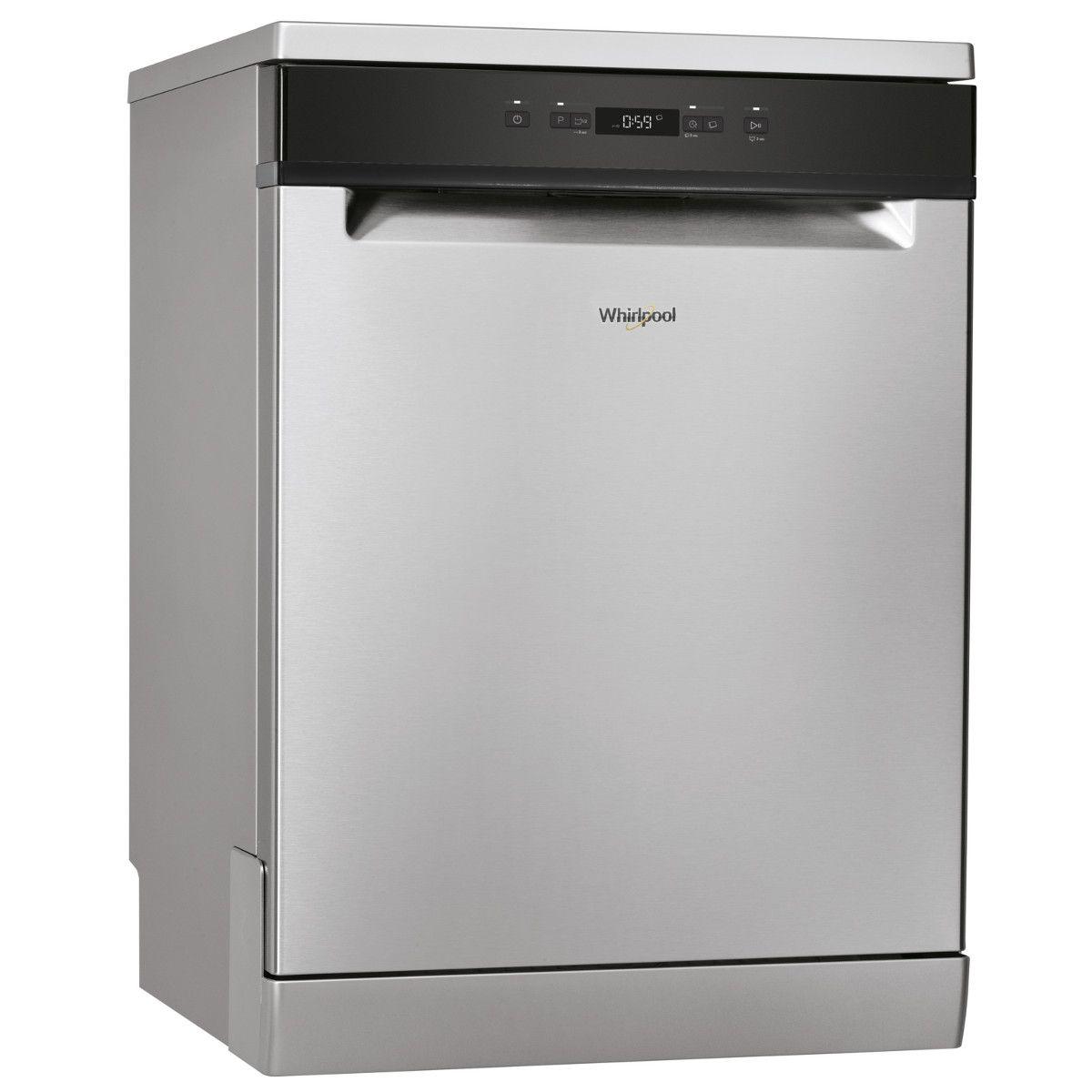 Lave-vaisselle pose libre WFC3B16X, 13 couverts, 60 cm, 46 dB, 5 programmes