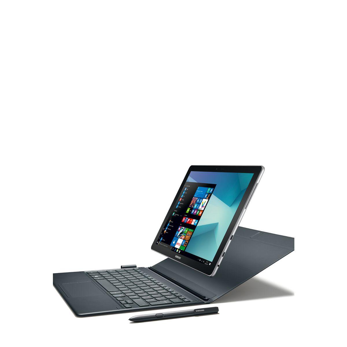 SAMSUNG Tablette tactile Galaxy Book 12 - 4G - Noir - Ecran 12 pouces - Processeur Intel Core I5 - Mémoire 256Go - Mémoire vive RAM 8Go - Système d'exploitation Windows 10 Pro