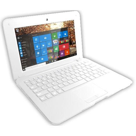 ordinateur portable netbook french boost blanc selecline. Black Bedroom Furniture Sets. Home Design Ideas