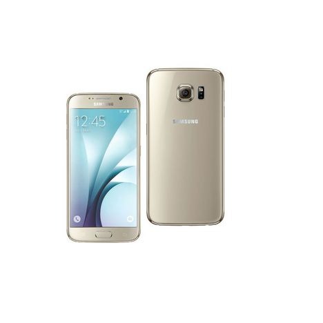 smartphone galaxy s6 reconditionn grade a 32 go or dina samsung pas cher prix auchan. Black Bedroom Furniture Sets. Home Design Ideas