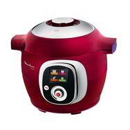 MOULINEX Mijoteur Cookeo CE701500 RED EDITION Multi-cuiseur intelligent 6L 1200W