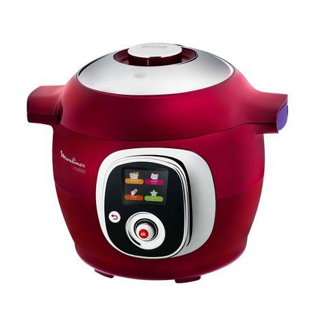 mijoteur cookeo ce701500 red edition multi cuiseur intelligent 6l 1200w moulinex pas cher prix. Black Bedroom Furniture Sets. Home Design Ideas