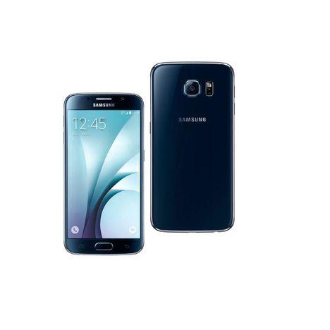 smartphone galaxy s6 reconditionn grade a 32 go noir dina samsung pas cher prix auchan. Black Bedroom Furniture Sets. Home Design Ideas