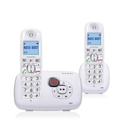 ALCATEL Téléphone fixe - XL385 Voice - Blanc - Répondeur