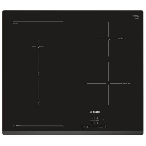 BOSCH Table de cuisson à induction PVS631BB1E, 60 cm, 4 Foyers