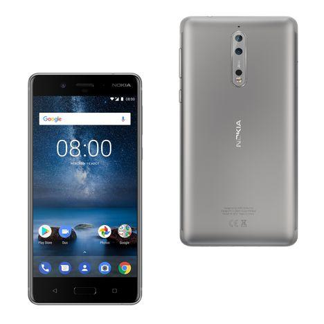 NOKIA Smartphone NOKIA 8 - 64 Go - 5,3 pouces - Argent