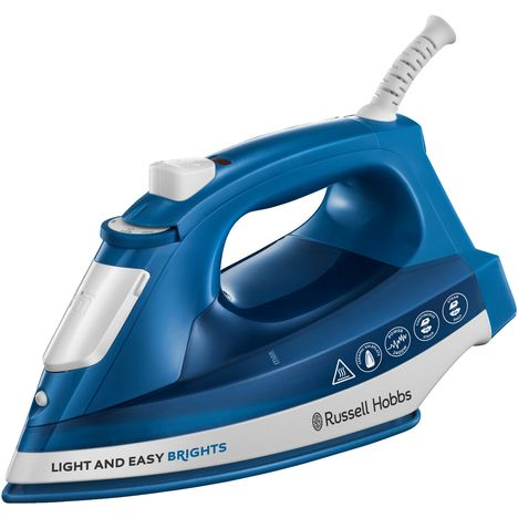 RUSSELL HOBBS Fer à repasser Light and Easy Brights Saphire