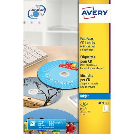 AVERY Etiquettes Autocollantes J8167 12