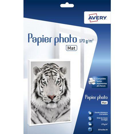 AVERY Papier Photo Supérieur Jet d'encre