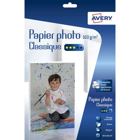 AVERY Papier photo Classique 160g/m² C9431-50