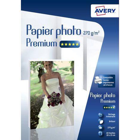 AVERY Papier photo Premium 270g/m² A6 C2453-40