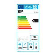 BEKO Lave-vaisselle pose libre DFN101S, 12 couverts, 60 cm, 47 dB, 5 Programmes