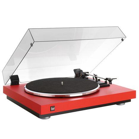 DUAL CS 440 - Rouge - Platine vinyle