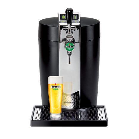 KRUPS Machine à bierre BeerTender noir et métal YY2932FD