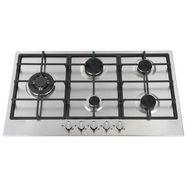 LIMIT Table de cuisson à gaz LIGKXG90X, 90 cm, 5 Foyers dont 1 wok  3800 W