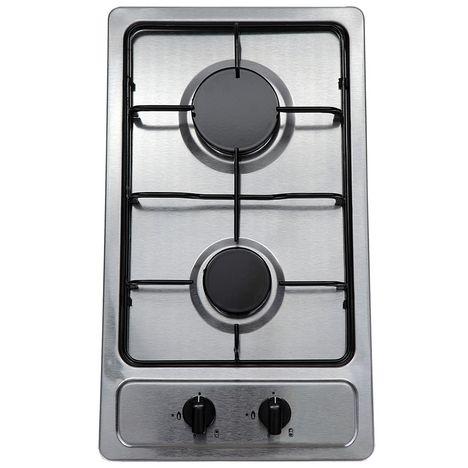 LIMIT Table de cuisson DOMINO à gaz LIGK30X - 30 cm, 2 Foyers