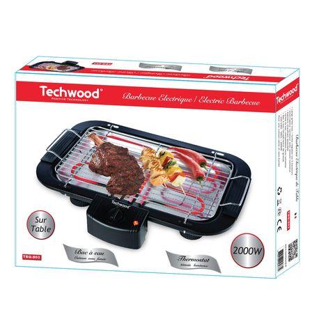 Barbecue Electrique Tbq 803 Techwood Pas Cher A Prix Auchan