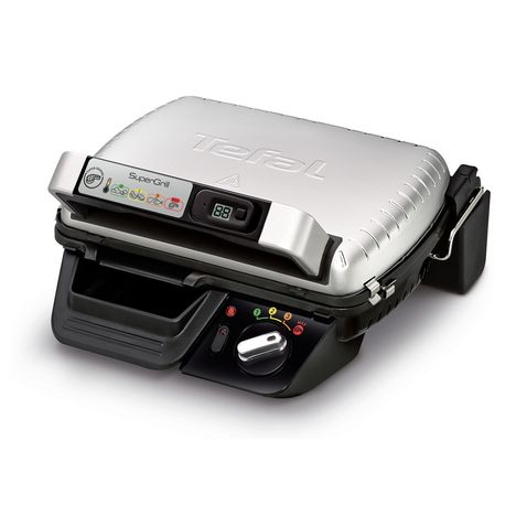 TEFAL Grill Viande SUPERGRILL TIMER GC451B12 - 2000W