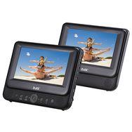 D-JIX D-JIX PVS 902-39LSM IB - Lecteur DVD portable double écran