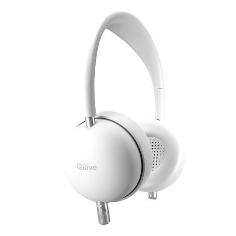 QILIVE Casque audio Q1007 Bluetooth - Blanc
