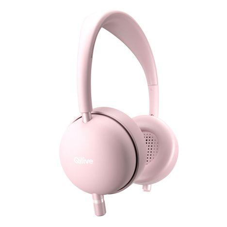 Casque audio Q1007 Bluetooth - Rose QILIVE