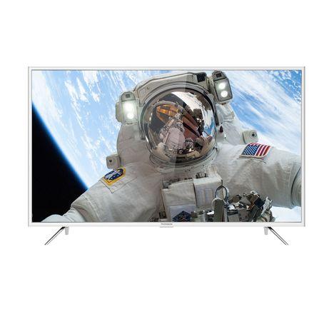 55uc6416w tv led 4k uhd 139 cm hdr smart tv blanc thomson pas cher prix auchan. Black Bedroom Furniture Sets. Home Design Ideas