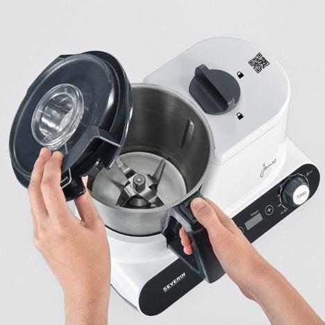 Robot Multifonction Km3895 Robot Culinaire Severin Pas Cher à Prix