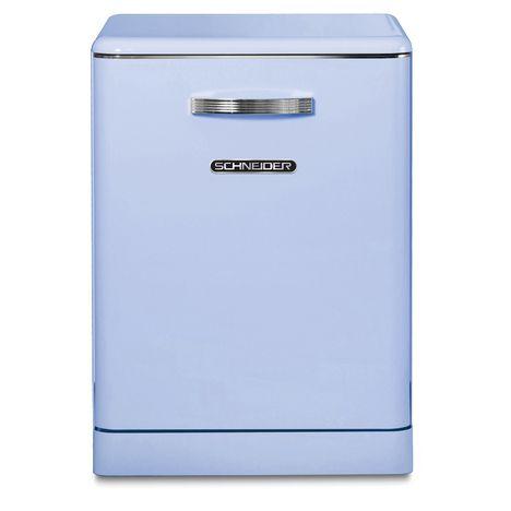 SCHNEIDER Lave-vaisselle pose libre SDW1444VBL, 14 couverts, 60 cm, 44 dB, 6 programmes