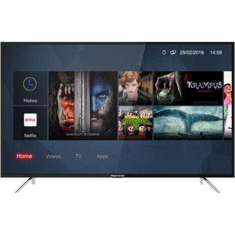 THOMSON 55UC6306 - Silver - Téléviseur LED Ultra HD