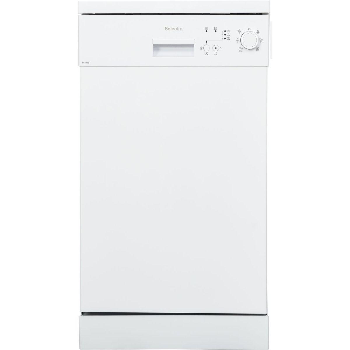 Lave vaisselle non encastrable C1549 / 884125, 10 couverts, 45 cm, 49 dB, 6 programmes